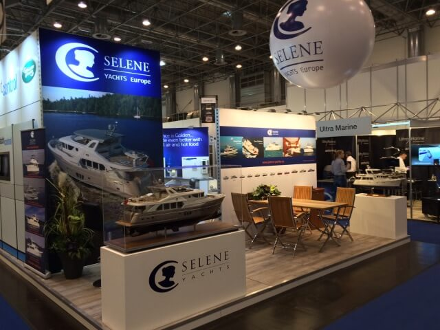 Selene Yachts Europe at Boot Düsseldorf 2016
