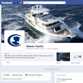 Selene Yachts on Social Media