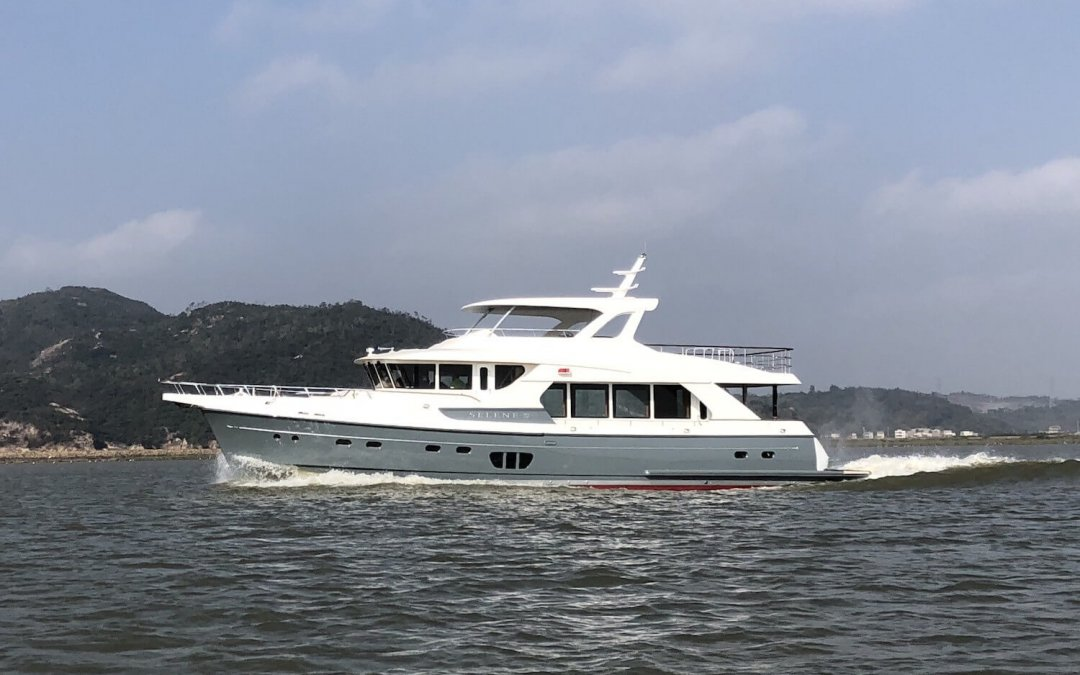 The story behind 72' of elegance and technology…