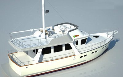 Under construction: the new Selene 50 Europa